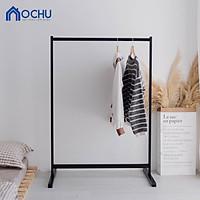 Giá Treo Quần Áo Gỗ Thông  - Single Hanger - Black