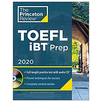 Princeton Review TOEFL iBT Prep with Audio CD, 2020 (COLLEGE TEST PREP)