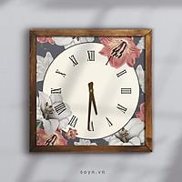 Đồng hồ treo tường canvas Artclock Soyn C51