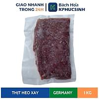 [Chỉ Giao HCM] Thịt Heo Xay Nhập Khẩu Túi 1KG