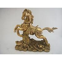 Ngựa Truy Phong 20cm bằng đồng