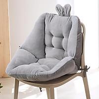 Chair Cushion Seat Patio Office Chair Seat Stuffed Cotton Cushion Pink