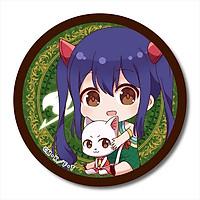 Combo huy hiệu in hình anime Fairy Tail Hội Pháp Sư anime chibi dễ thương huy hiệu cài áo