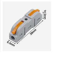 Cút nối dây điện nhanh Kv212 KV214 KV111 2 đầu vào và 2/4/6 đầu ra có phân biệt màu