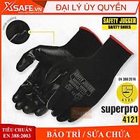 Găng tay bảo hộ lao động Jogger Superpro - Bao tay lao động chống dầu nhớt, trơn trượt, độ linh hoạt cao - Chính hãng
