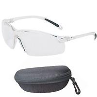 Kính trắng thời trang bảo hộ, bảo vệ mắt chống nước , chống bụi, chống UV chính hãng , cao cấp HoneyWell A700 ( màu trắng và có hộp)