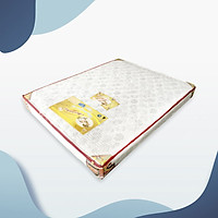 Nệm cao su Ansanko 1m2 phẳng (1.2x2.0m) vải gấm Valize cao cấp có chần - Hoa văn màu sắc ngẫu nhiên.