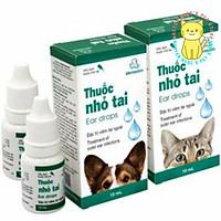 Thuốc nhỏ tai Vemedim - Hỗ trợ điều trị viêm tai, nấm tai dùng cho chó mèo chai 10ml