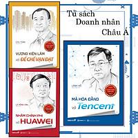 Combo 3 cuốn Tủ sách doanh nhân Châu Á