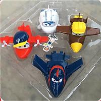 Bộ 4 đội bay siêu đẳng lắp ráp biến hình super wings (mẫu ngẫu nhiên)