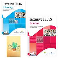 Combo Intensive IELTS Listening và Intensive IELTS Reading ( Tặng Kèm Sổ Tay)