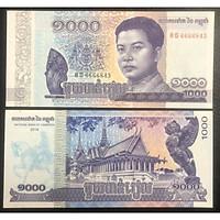 Tiền cổ Campuchia 1000 Riels sưu tầm