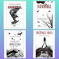 Combo 4 Cuốn Tiểu Thuyết Nổi Tiếng Thế Giới: Hannibal (Tái Bản 2018) + Sự Im Lặng Của Bầy Cừu + Hannibal Trỗi Dậy (2020) + Rồng Đỏ (Bookset Nhã Nam - Truyện Trinh Thám Làm Nên Tên Tuổi Thomas Harris )