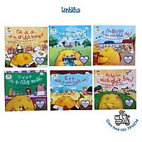Combo 6 cuốn Gà Con Lon Ton - Những Câu Chuyện Siêu Đáng Yêu Và Bài Học Giá Trị Cho Bé 2-6 tuổi - Đinh Tị