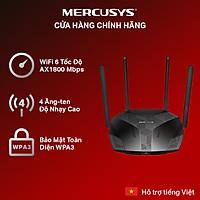 Bộ Phát Wifi MERCUSYS MR70X Wifi 6 Băng Tần Kép AX1800 - Hàng Chính Hãng