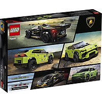 Mô hình đồ chơi lắp ráp LEGO SPEED CHAMPONS Siêu Xe Lamborghini Urus ST-X & Huracán Super Trofeo EVO 76899 ( 663 Chi tiết )