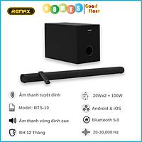 Dàn Loa Soundbar REMAX RTS-10 Bluetooth 5.0 Âm Thanh Đỉnh Cao - Hàng Chính Hãng