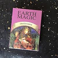Bộ bài Bói Tarot Earth Magic Oracle Cards Cao Cấp