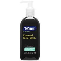 Gel Rửa Mặt Than Hoạt Tính T-Zone Skincare Charcoal Facial Wash 200ml