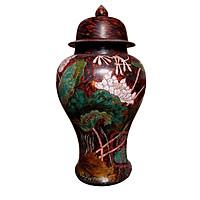 Chóe phong thủy gốm sứ sơn mài Bát Tràng - kích thước lớn, Gốm sứ Bát Tràng