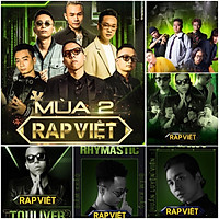 Set 30-60 Rap Việt sticker