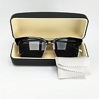 Mắt kính mát nam nữ thời trang DKY2017D gọng kim loại, tròng Polariezd chống tia UV