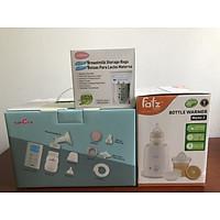 Combo máy hút sữa spectra 9 plus Hàn Quốc+máy hâm sữa fatz baby+30 túi trữ sữa unimom  Bảo hành 24 tháng chọn size phểu 16/20/24/28/32mm