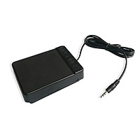 Universal Electronic Piano Foot Sustain Pedal Controller Switch For Electronic Organ Electronic Drum Keyboards Musical - Black