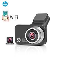 Camera hành trình ô tô HP f986x tích hợp camera lùi kết nối wifi, Định vị GPS - HÀNG CHÍNH HÃNG