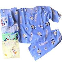 Combo 2 bộ quần áo trẻ em Tole, lanh tay dài cho bé trai Size 5 -34kg