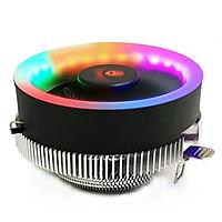 Fan tản nhiệt CPU COOLMOON Q2 Led RGB - Hàng nhập khẩu