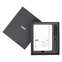 Gift Set Lamy Notebook A6 Softcover White + Lamy Safari Matt Black - GSA6-Sa0023