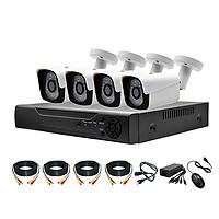 Trọn Bộ 4 Kênh Camera AHD 5.0Mpx + Ổ Cứng 500GB + Đủ phụ kiện lắp đặt
