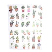 Sticker Dán Trang Trí ( Bộ 6 Tấm ) -  Pots