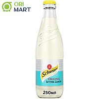 Schweppes Original Bitter Lemon 250ml - Nước ngọt có ga vị chanh đắng ORIGINAL SCHWEPPES 250ml