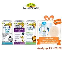 Combo 3 Siro Uống Nature's Way Kids Smart Drops Bổ Sung Vitamin, Khoáng Chất Cho Bé Phát Triển Toàn Diện 50ml
