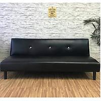 Ghế sofa giường đa năng BNS-HD2001- Đen-Nâu-Trắng kem