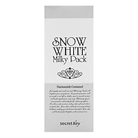 Kem Dưỡng Trắng Da Mặt Và Toàn Thân Secret Key Snow White Milky Pack 200g