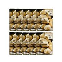 Bộ 10 Mặt Nạ Dưỡng Da Khoai Tây 3W CLINIC FRESH POTATO MASK SHEET 23ml x 10 miếng