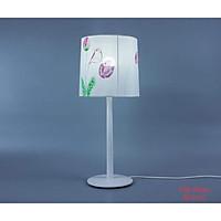 Đèn bàn gỗ chú chim mùa xuân, đèn trang trí nội thất, đèn để bàn phòng ngủ hàng chính hãng.