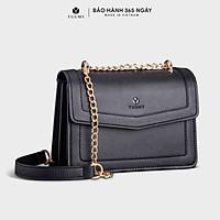 Túi đeo chéo nữ thời trang YUUMY YN92, 7 ngăn, vừa sổ tay, ví, điện thoại, phù hợp đi chơi, đi làm, đi tiệc, da tổng hợp cao cấp, không bong tróc, không thấm nước (Dài 21.5cm x Rộng 9cm x Cao 15.5cm)