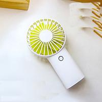 Quạt mini cầm tay tỏa hương thơm Jisulife F2B - Khuếch tán tinh dầu và nước hoa 3 cấp độ gió – Quạt mini USB sạc nhanh 3 giờ, hoạt động 20 giờ liên tục bền bỉ không gây tiếng ồn (Hàng chính hãng)