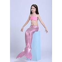 Đồ bơi nàng tiên cá bikini gồm chân vịt