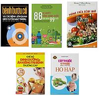 Bộ 5 cuốn sách 88 BQ sống khỏe + Bệnh bướu cổ + Phòng chữa bệnh bằng rau củ quả + Cây thuốc vị thuốc phòng và chữa trị bệnh hô hấp + Chế độ dinh dưỡng ăn kiêng