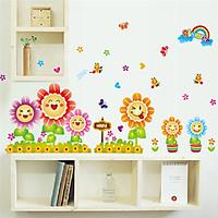 Decal dán tường hoa mặt trời - SS98