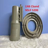 KIM THU SÓNG VỆ TINH LNB Cband NSLF 5200 dùng cho chảo thu vệ tinh