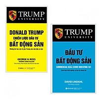 Combo 2 cuốn sách kinh tế tâm đắc: Đầu Tư Bất Động Sản + Donald Trump - Chiến Lược Đầu Tư Bất Động Sản ( Tặng kèm bookmark Happy Life)