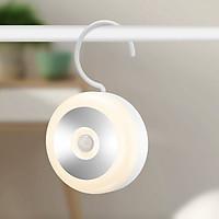Đèn led mini cảm biến hồng ngoại có cổng sạc USB  ( Tặng bộ 6 con bướm dạ quang phát sáng )