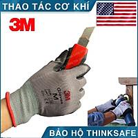 Găng tay lao động chống cắt 3M Cấp độ 1 - Găng tay bảo hộ chuyên dùng thao tác cơ khí