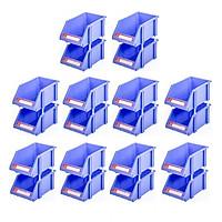Combo 10 Cặp Kệ Dụng Cụ Trung Duy Tân (15 x 25 x 11 cm) - Kệ nhựa đựng ốc vít, hàng hóa, đa năng, giúp sắp xếp gọn gàng đồ đạc